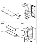 Diagram for 10 - Ref Door & Door Trim And Handles