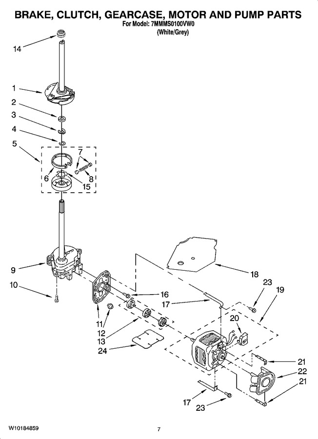 Diagram for 7MMMS0100VW0