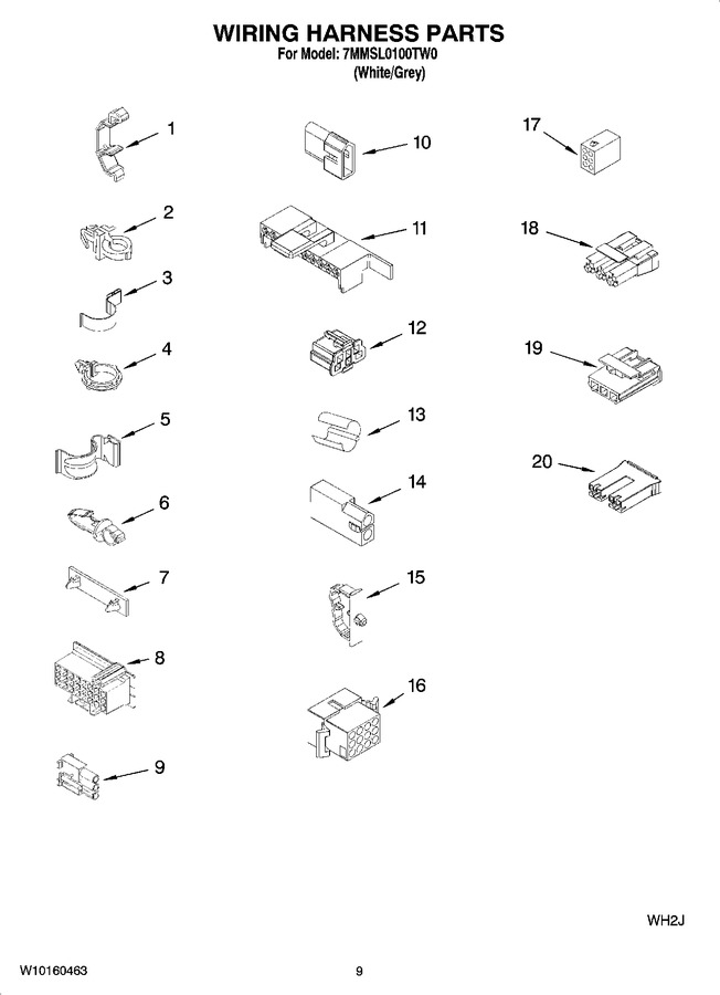 Diagram for 7MMSL0100TW0