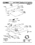 Diagram for 07 - Top Cover, Console &