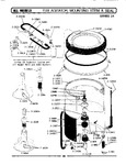 Diagram for 09 - Tub, Agitator, Mounting Stem & Seal