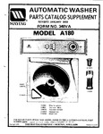 Diagram for 05 - Parts Catalog Supplement (a180)
