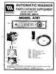 Diagram for 05 - Parts Catalog Supplement (a181)