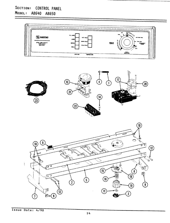 Diagram for LA8650