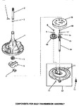 Diagram for 02 - 33227 Transmission Assy Components