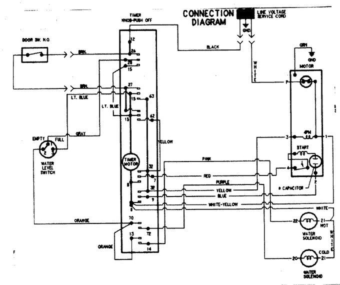 Diagram for PAV1100AWW