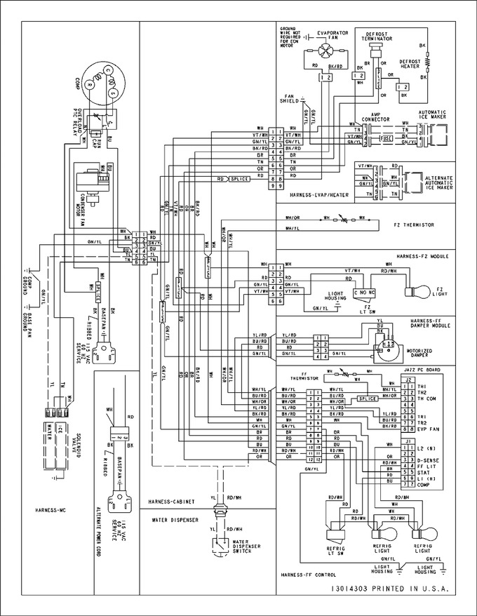 Diagram for ABB2227DEB