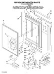 Diagram for 04 - Refrigerator Door Pa