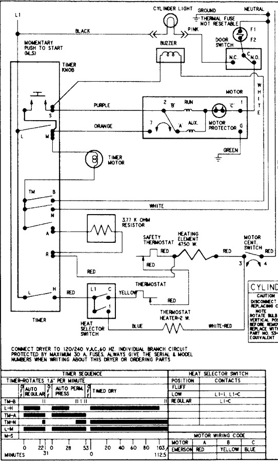 Diagram for CDE6500W