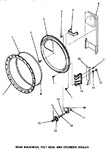 Diagram for 10 - Rear Blkhd, Felt Seal & Cylinder Roller
