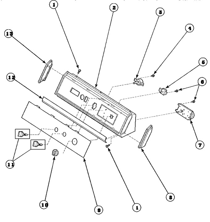 Diagram for AEM497W2 (BOM: PAEM497W2)