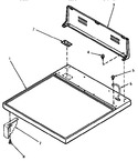 Diagram for 01 - Cabinet Top And Control Hood Rear Panel
