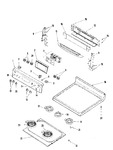 Diagram for 03 - Control Panel/top Assembly (blk/stl)