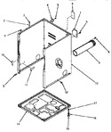 Diagram for 02 - Cabinet, Exhaust Duct And Base