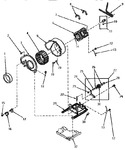 Diagram for 09 - Motor, Exhaust Fan And Belt