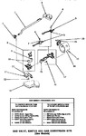 Diagram for 04 - Gas Valve, Igniter & Gas Conversion Kits