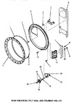 Diagram for 11 - Rear Blkhd, Felt Seal & Cylinder Roller