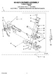 Diagram for 03 - 8318272 Burner Assembly