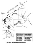 Diagram for 05 - Gas Valve, Igniter & Gas Conversion Kits