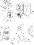 Diagram for 07 - Interior Cabinet & Freezer She