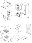 Diagram for 06 - Interior Cabinet & Freezer Shel