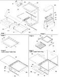 Diagram for 03 - Deli, Shelves & Crisper Assy