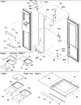 Diagram for 11 - Refrigerator/freezer Lights And Hinges
