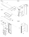 Diagram for 12 - Refrigerator Door, Trim And Handles