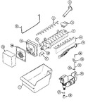 Diagram for 07 - Optional Ice Maker Kit-uki1000axx
