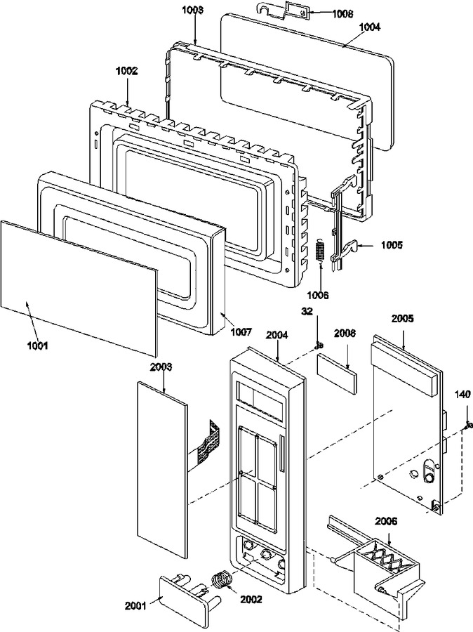 Diagram for F1320W (BOM: P1319606M)