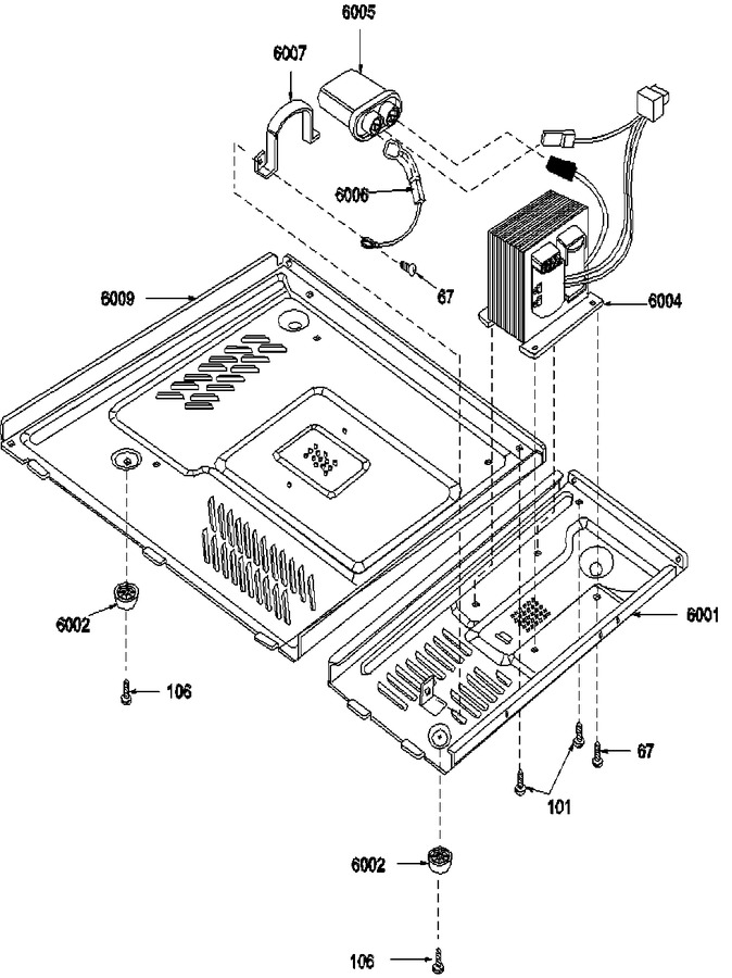 Diagram for F1340W (BOM: P1319608M)