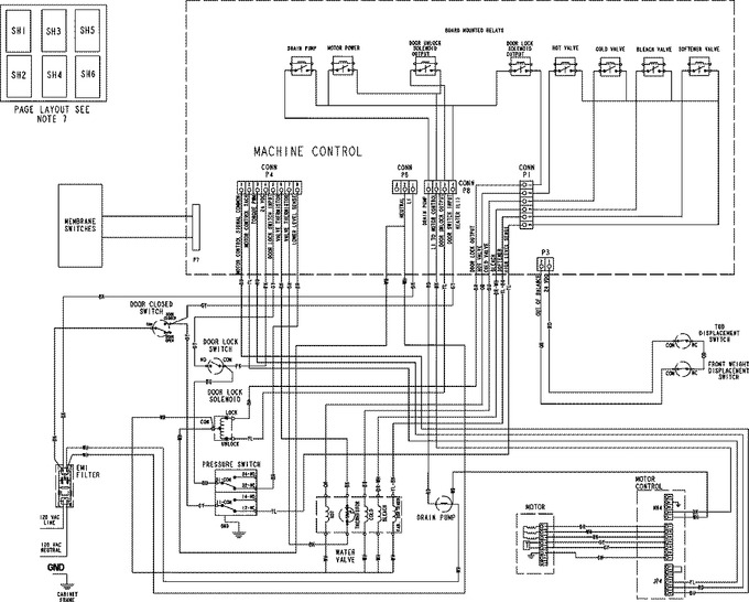 Diagram for MAH5500BWQ