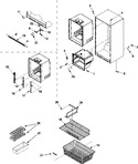 Diagram for 07 - Interior Cabinet & Freezer Shelving