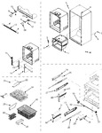 Diagram for 06 - Interior Cabinet & Freezer Shelves