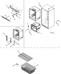 Diagram for 06 - Interior Cabinet & Freezer Shelving