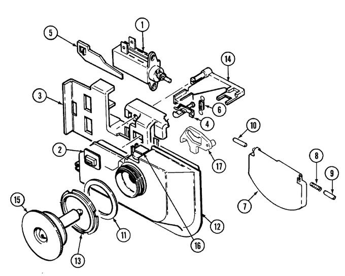 Diagram for DW701W