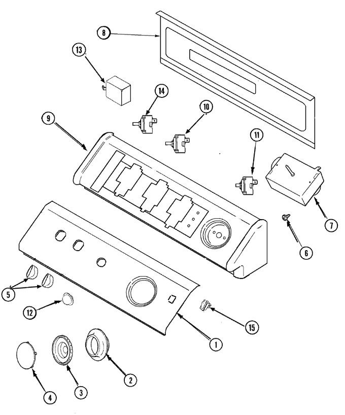 Diagram for CDE9500W