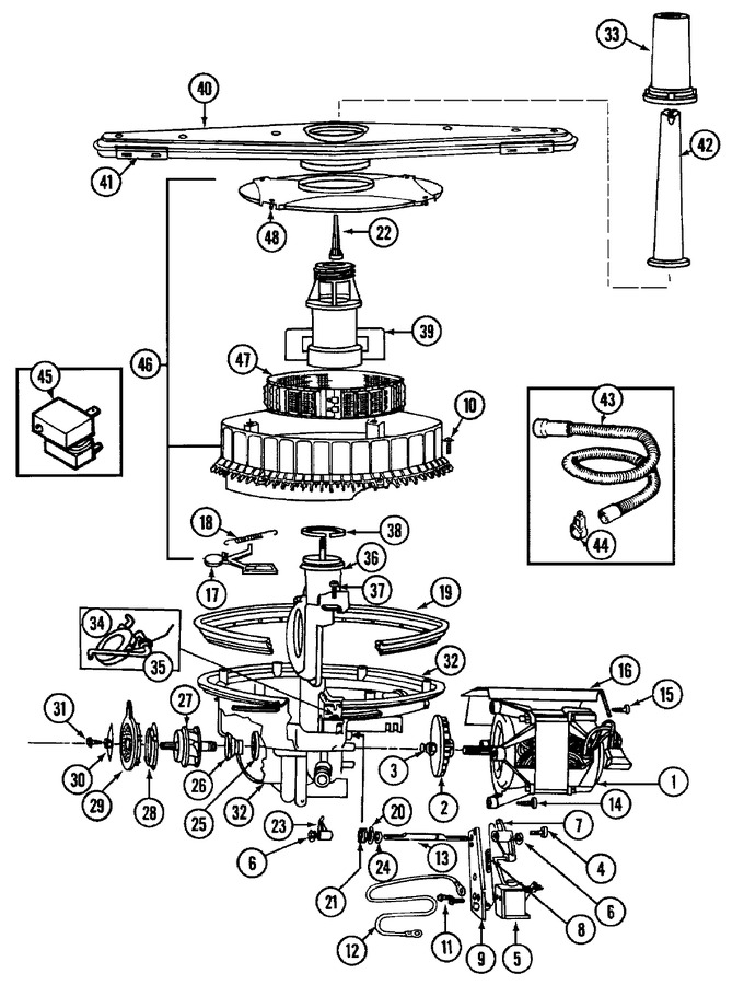 Diagram for DW960B
