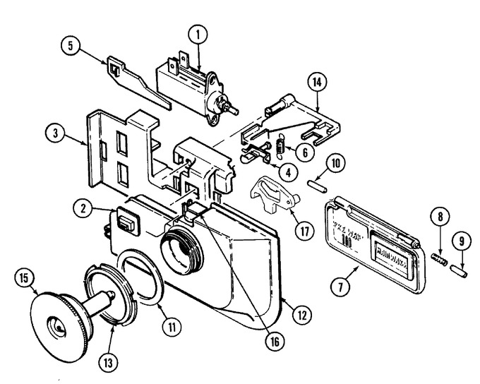 Diagram for DW711W