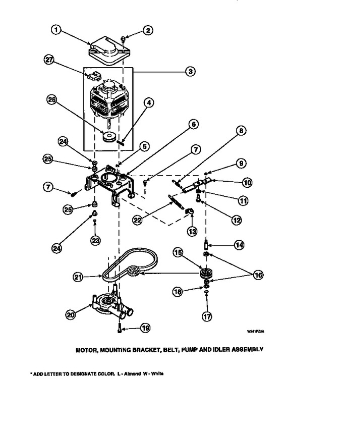 Diagram for LW6153LB (BOM: PLW6153LB A)