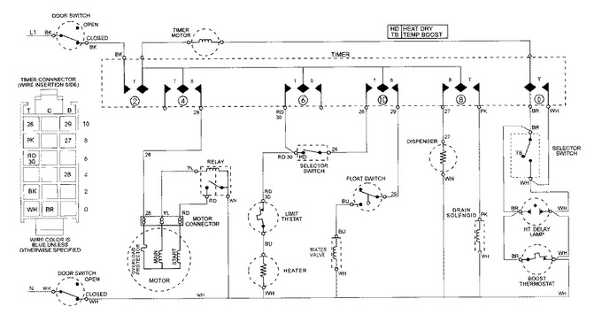 Diagram for MDB2400AWE