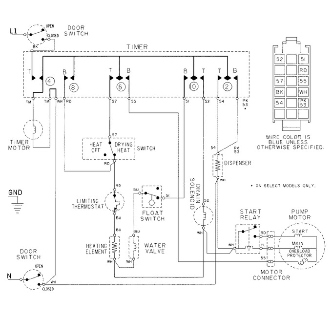 Diagram for DW700B