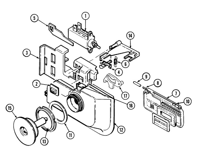 Diagram for DW860B