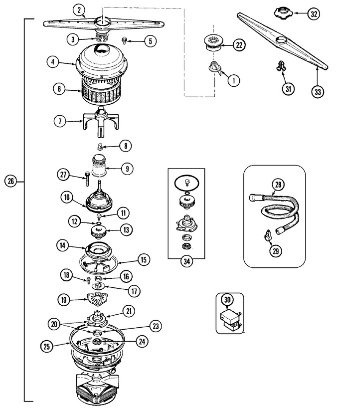 Diagram for DWU8402AAM