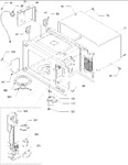 Diagram for 03 - Oven Cavity & Latch Assembly Parts