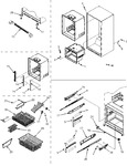 Diagram for 07 - Interior Cabinet/frz Shelves/toe Grille