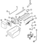 Diagram for 08 - Optional Ice Maker Kit-uki1000akx