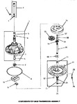 Diagram for 01 - 28430 Transmission Assy Components