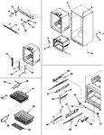 Diagram for 09 - Interior Cabinet & Freezer Shelves