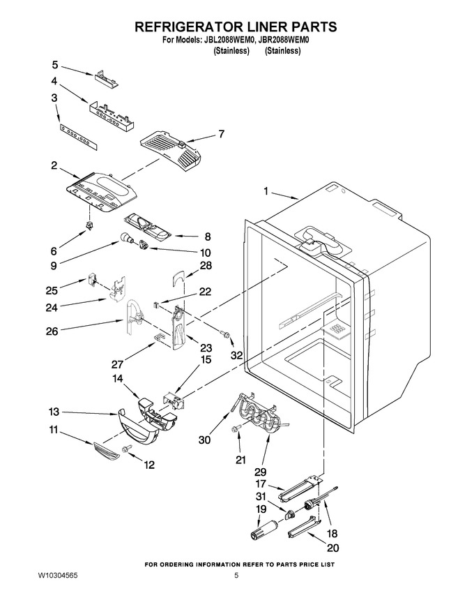 Diagram for JBL2088WEM0